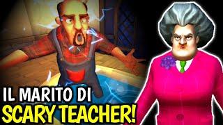 Gambar cover IL MARITO DI SCARY TEACHER 😃 SCARY NEIGHBOR 3D [Gameplay ITA]