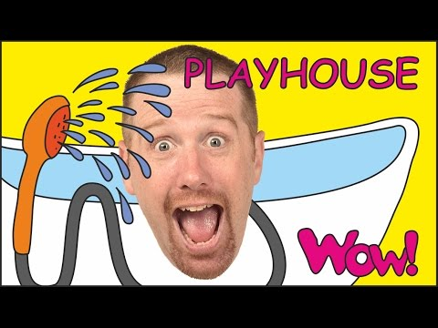 Thumbnail: Playhouse for Children + MORE Short English Stories for Kids | Steve and Maggie from Wow English TV