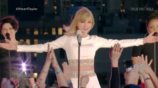 Taylor Swift - Welcome To New York (live at 1989 Secret Session with iHeartRadio 2014-10-27)
