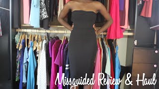 Missguided Review & Try-On Haul
