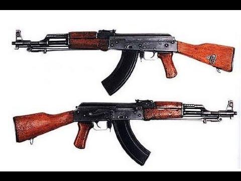 世界经典突击步枪AK-47