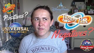 What Are Theme Parks Like?