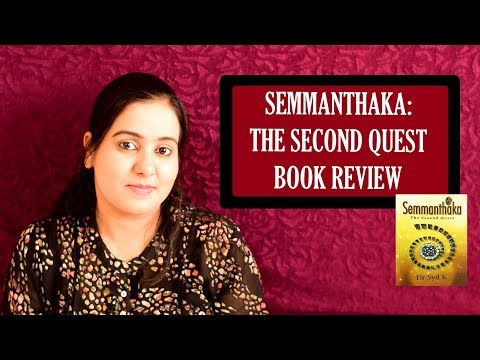 Quest for a Legendary Gem | Semmanthaka by Syd K | Book Review
