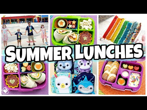 Doing ALL the Things! SUMMER LUNCHES of the WEEK + VLOG