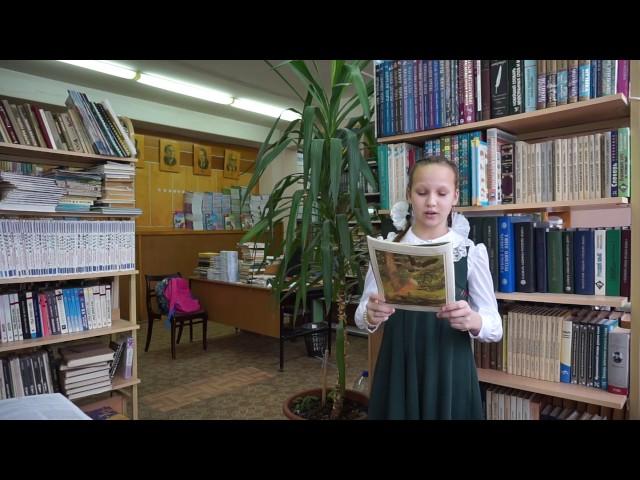 Изображение предпросмотра прочтения – ИринаБондаренко читает произведение «Ворона и Лисица» И.А.Крылова