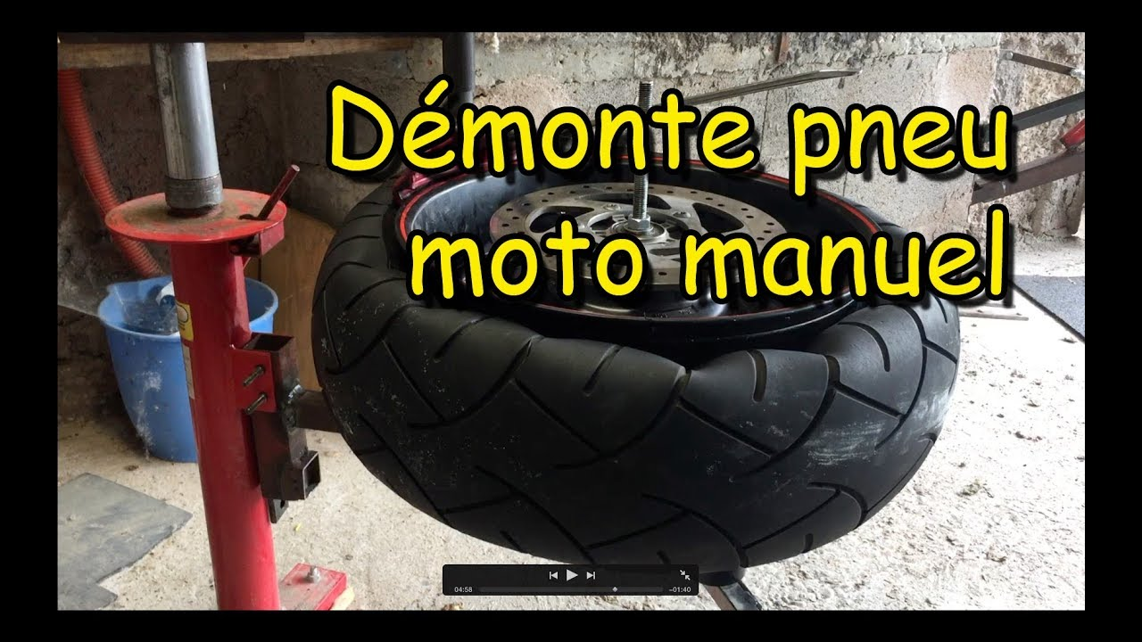 demonte pneu moto manuel motorcycle manual tire changer. Black Bedroom Furniture Sets. Home Design Ideas