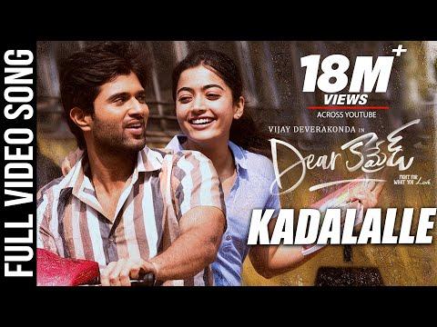 Kadalalle Video Song | Dear Comrade Telugu | Vijay Deverakonda | Rashmika | Bharat Kamma