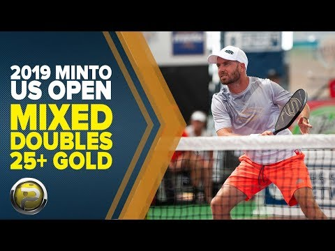 Mixed Doubles 25+ GOLD - 2019 Minto US Open Pickleball Championships