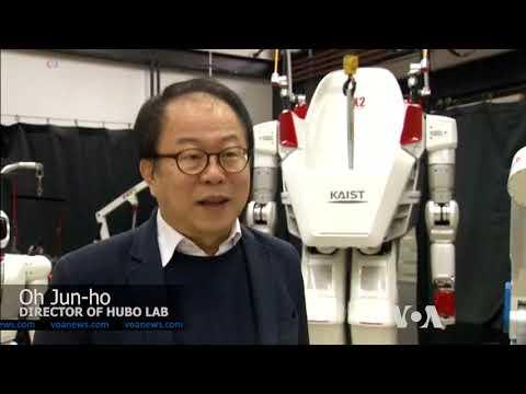 Riding a 270-kilogram Walking Robot
