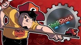 THE TRICKSHOT GOD | Tank and Spank! (Shellshock Live w/ Friends)