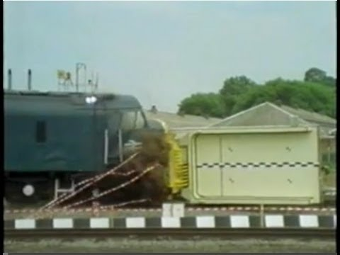 Nuclear Train Flask Collision Test - Operation Smash Hit (1984)
