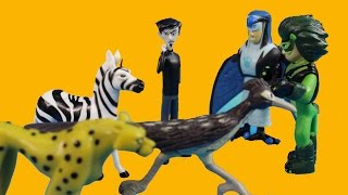 WIld Kratts Creature Rescue Set Chris & Martin Kratt Go On An Animal Safari Adventure