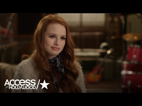 'Riverdale': Madelaine Petsch On Cheryl Speaking Out At Jason Blossom's Memorial | Access Hollywood