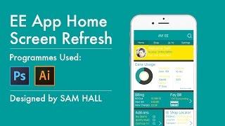 EE App Refresh Design - UX / UI Timelapse