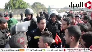 دخول اولتراس اهلاوي لمباراة الصفاقسي التونسي و الاهلي باستاد القاهره