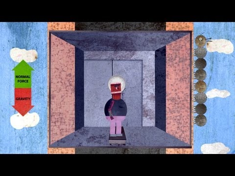 Video image: Would you weigh less in an elevator? - Carol Hedden