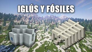Iglús y fósiles - Qué son y cómo encontrarlos en Minecraft?