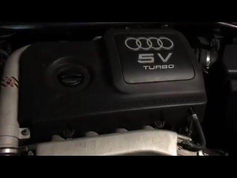 Change Oil On An Audi TT 1.8T, The Easy Way! - YouTube