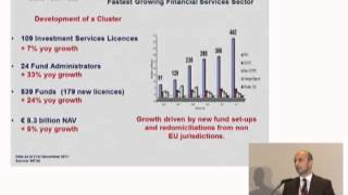 FM 5th Annual Conference 2012: Kenneth Farrugia - Malta's financial services Industry (1/2)