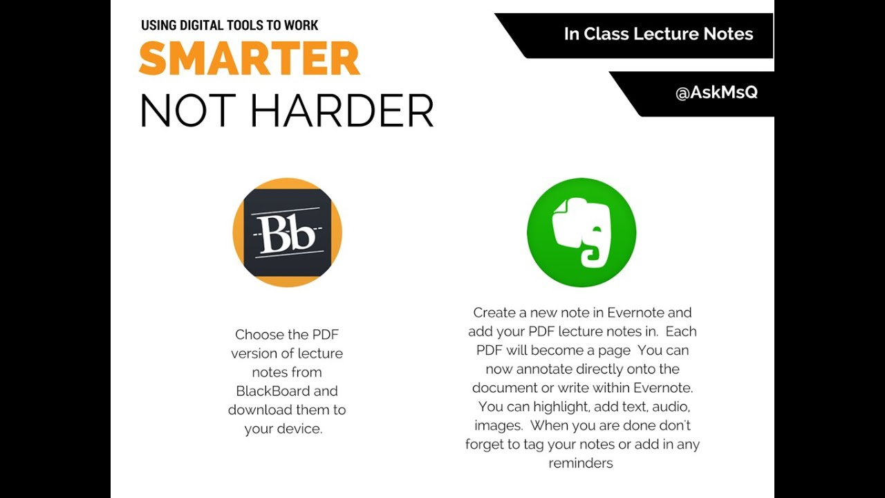 Smarter not harder annotating lecture notes with evernote youtube smarter not harder annotating lecture notes with evernote ccuart Images