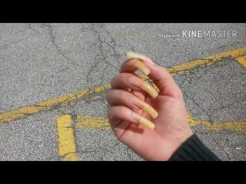 Bare Natural Long Nails