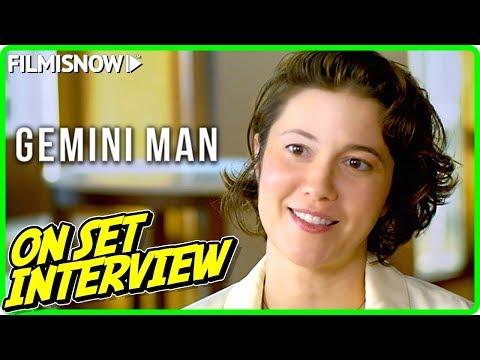 "GEMINI MAN | Mary Elizabeth Winstead ""Danny Zakarweski"" On-set Interview"