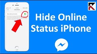 How To Hide Online Status On Facebook Messenger 2018 iPhone