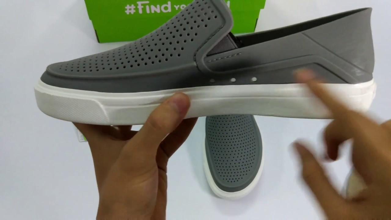 Sneaker] Crocs Citilane Roka - YouTube