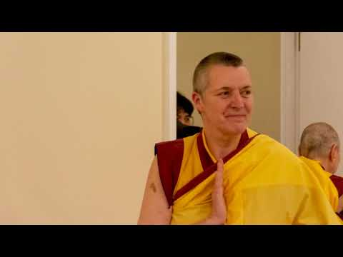 Opening the door to Buddha's Pure Land in Edinburgh