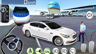 3D Driving Class Kia Free Ride in Airport! - Car Games Best Android Gameplay #5