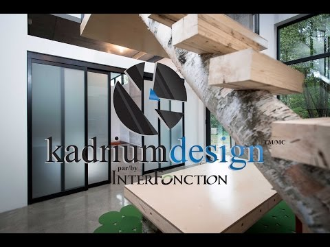 Guide d'installation des portes coulissantes en aluminium Kadrium Design par/by Inter Fonction