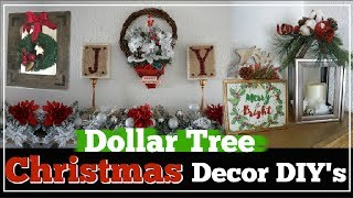 DOLLAR TREE CHRISTMAS DIY