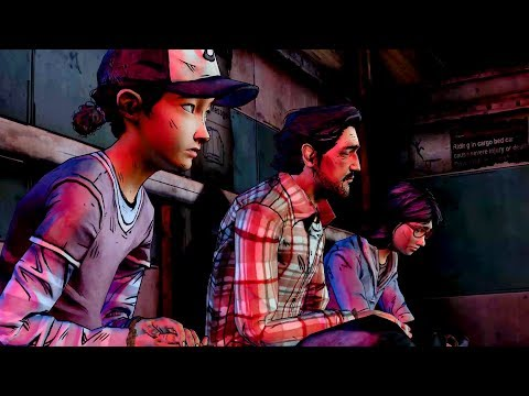 Carver Beats Clementine and Convoys Prisoners to Howe's Hardware (Walking Dead | Telltale Games)