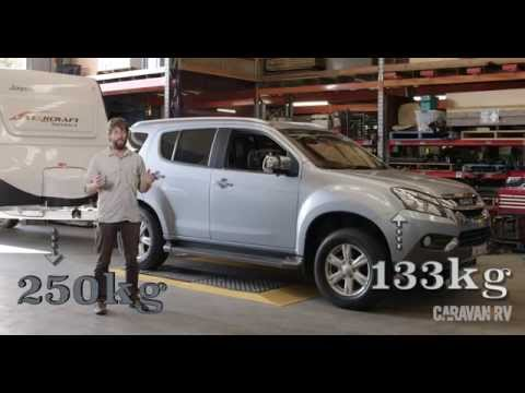 Australian Caravan + RV Towing Video 2015