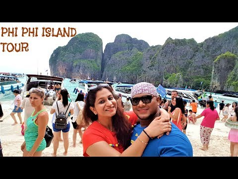 COMPLETE TOUR OF PHI PHI ISLAND, THAILAND 2017