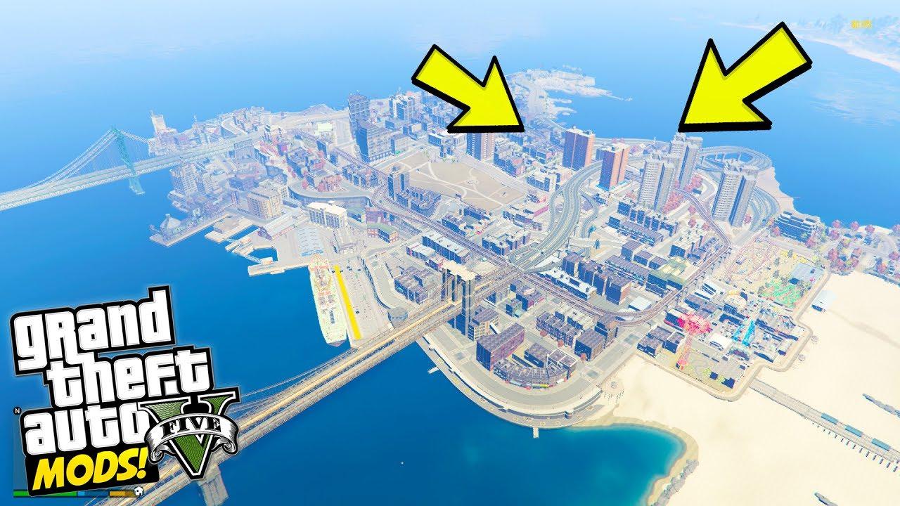 Pre Alpha : GTA 5 Liberty City Map! (GTA 5 Mods)