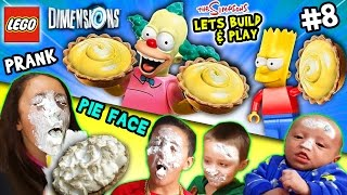 Lets Build & Play LEGO Dimensions #8: KRUSTY PIE IN YOUR FACE!  The Simpsons Fun Pack (FGTEEV Prank)(, 2015-12-24T19:14:40.000Z)