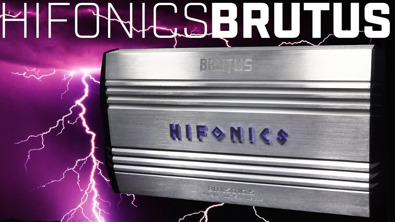 Hifonics Zrx20164 2000w Rms 4 Channel Amp Amplifier With Wiring Kit