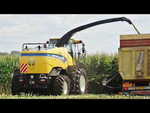 NEW MODEL | New Holland FR 880 + Kemper 10 Rows | Mais Silage | Comazzetto