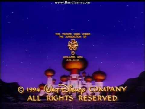 Aladdin Season 1 End Credits Pt 1