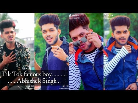 Abhishek Singh  Cute Boy New Famous Boy Musically Compilation  New Update