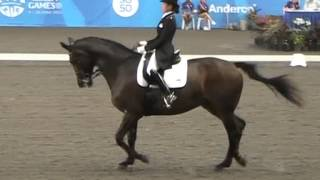 MOV061 Soh Wei Chi of Singapore on Mirabel Hojris SEAG2015 6 June 2015 Team Dressage Silver Medalist