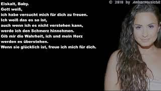 Demi Lovato - Stone Cold (Deutsche Übersetzung)