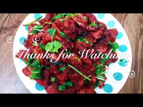 Restaurant style Chicken 65/Hot & Spicy Chicken 65/Crispy Chicken Starter - by Reya's Kitchen
