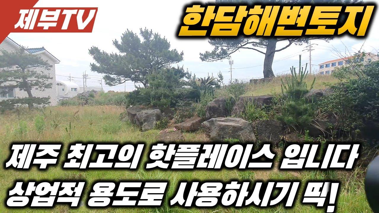 (추천)사고 싶어도 살수 없던 동네인 애월리 한담해변 토지 입니다 건축허가 득한 토지,제주도 토지,제주도 부동산 매물,Jeju House for sale,Korea,제주도부동산TV