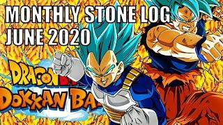 JP & GLB STONE LOG (June 2020) Dragon Ball Z Dokkan Battle