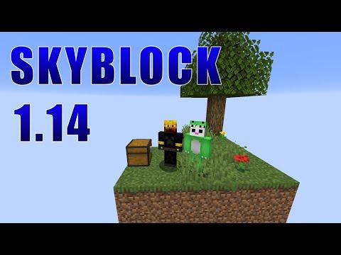 SKYBLOCK 1.14: #1 - MAPA ACTUALIZADO