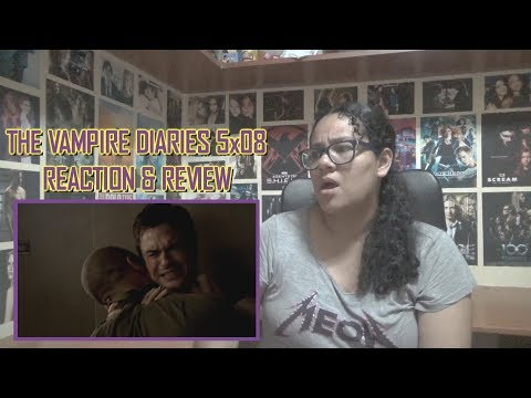 "The Vampire Diaries 5x08 REACTION & REVIEW ""Dead Man on Campus"" S05E08 