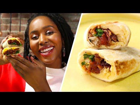 I Made Freezer-Friendly Breakfast Burritos • Tasty