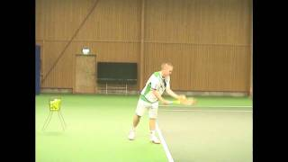 College Tennis Recruiting Video Erik Linde